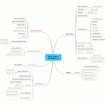 New Features Mind Map