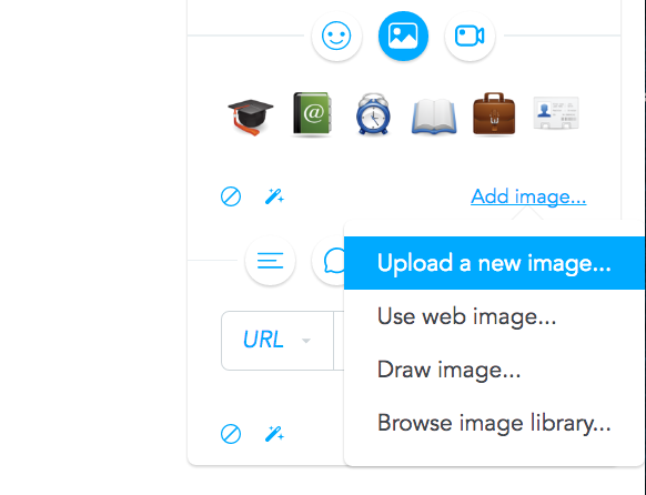 Upload images from your computer
