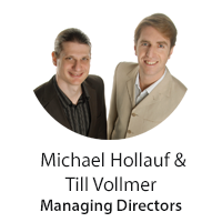 Michael Hollauf and Till Vollmer