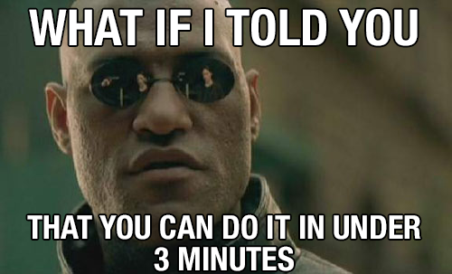 "Meme: ""WHAT IF I TOLD YOU"""