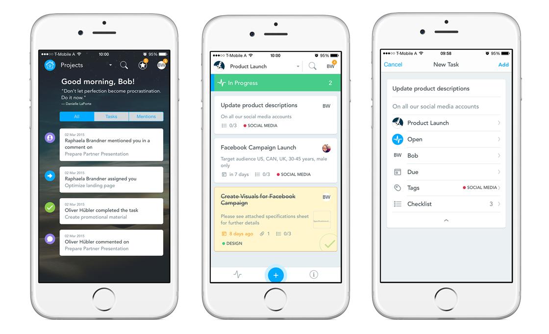 MeisterTask on iPhone - manage tasks on iPhone