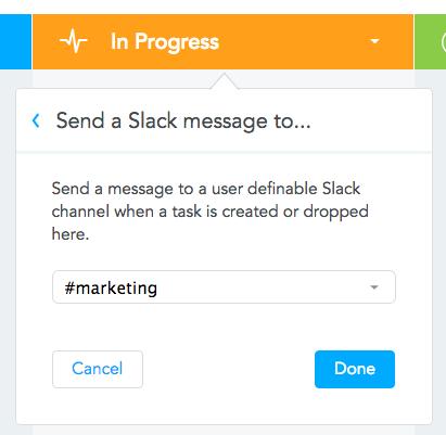 MindMeister Slack integration