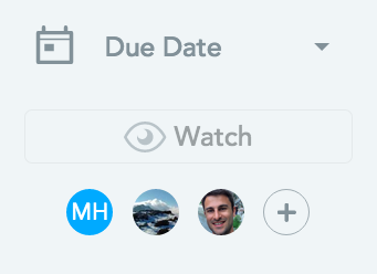 Adding watchers to tasks - new features for meistertask