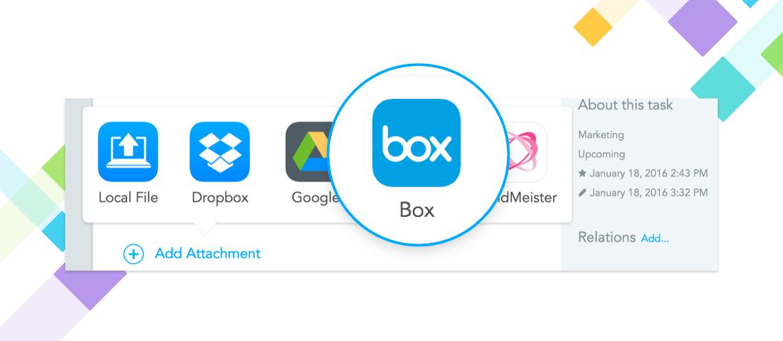 Upload attachments from Box.com