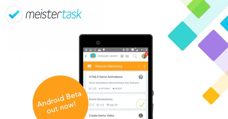 MeisterTask Android Beta