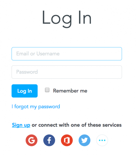 Log-in to MindMeister using Microsoft Office 365