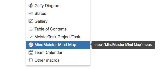 Select MindMeister Mind Map from the menu