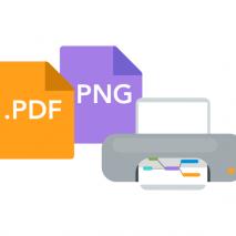 Announcement: PDF, PNG & Print Go Paid
