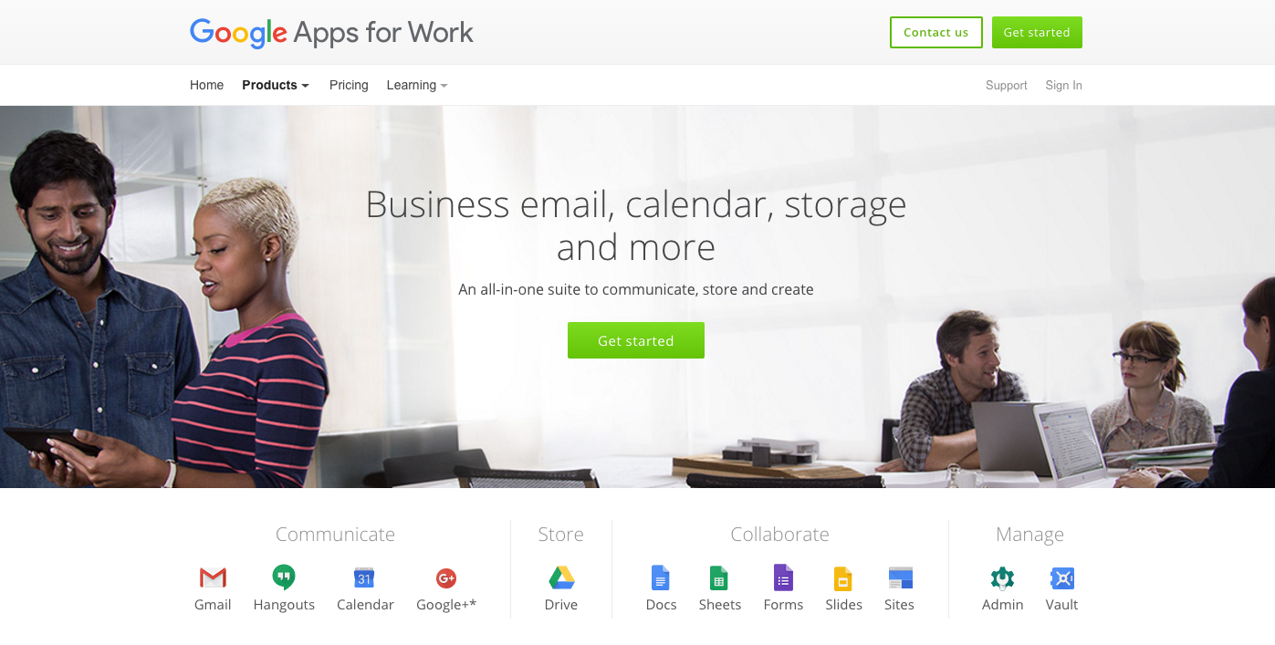 Get Google Apps for Work