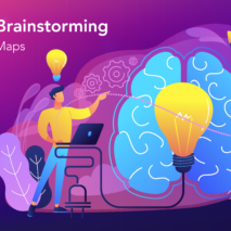 Online Brainstorming with Mind Maps