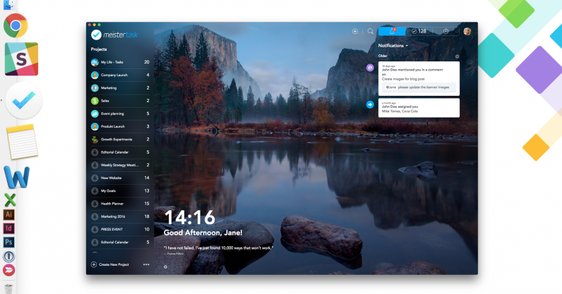 Say Hello to the Beautiful New MeisterTask for Mac