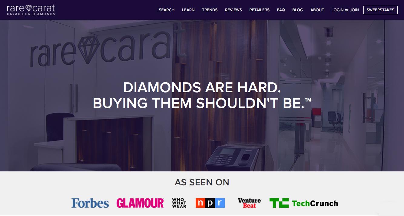 Rare Carat Website