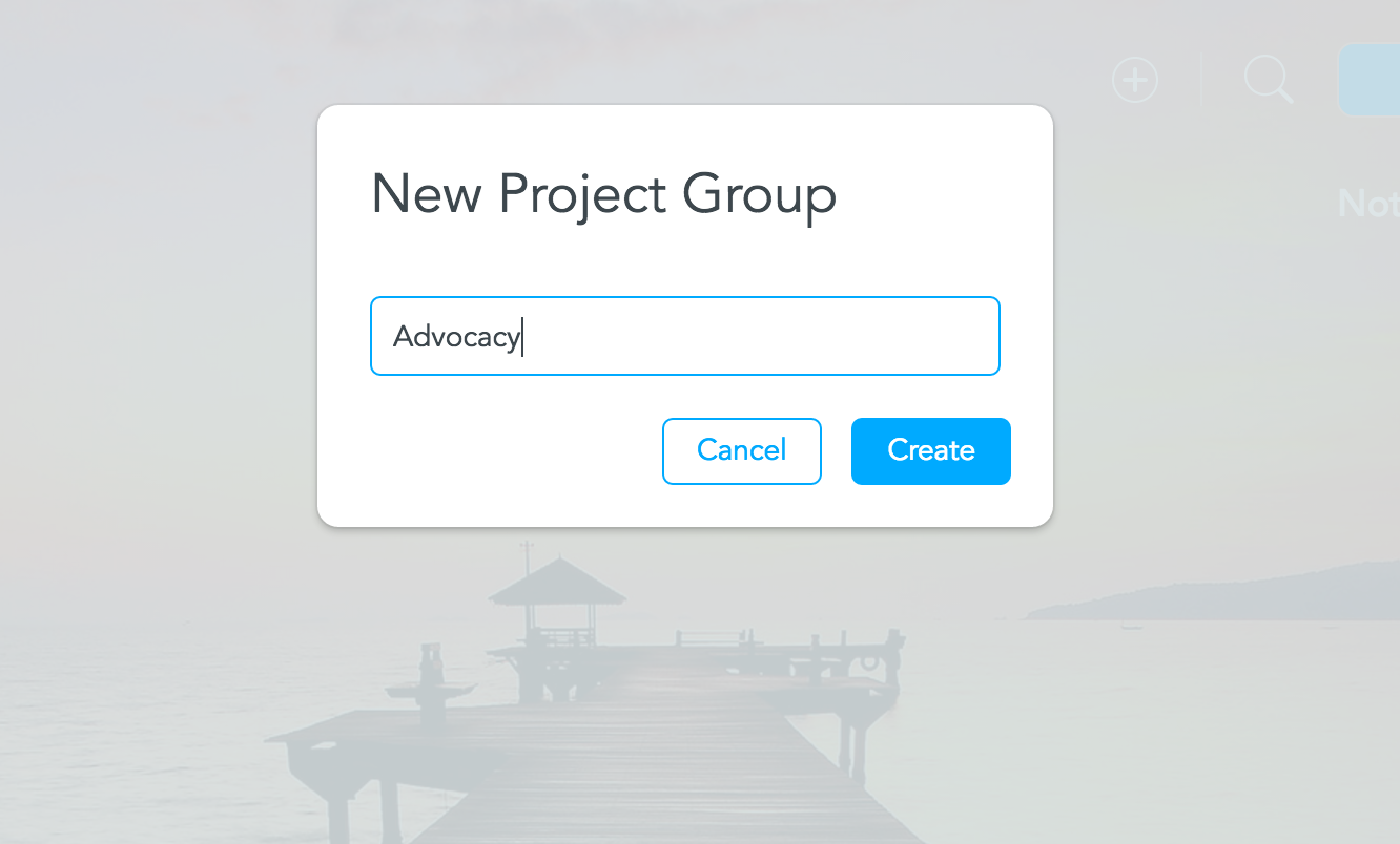 naming project groups meistertask