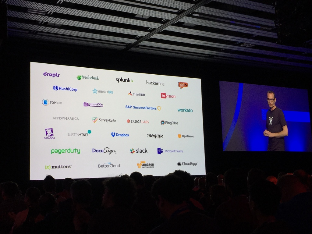 collaboration at Atlassian Summit Barcelona SaaS trade show