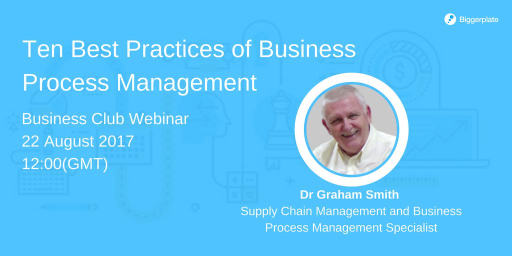 Business Process Management Webinar