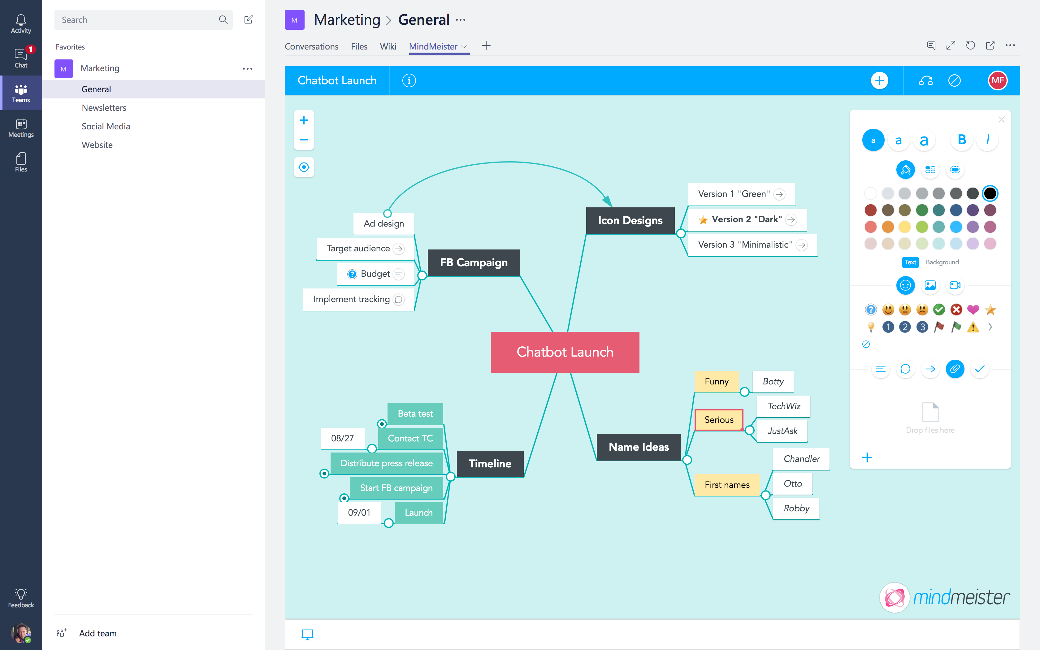 Mind Map Right Inside Your Channel