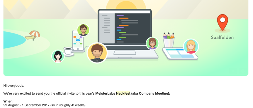 Team guide to productive slack use email