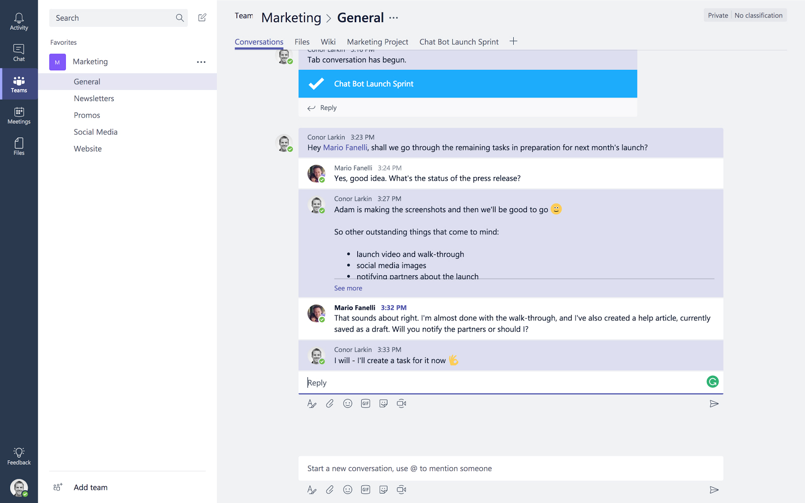 MeisterTask for Microsoft Teams turning plans into action