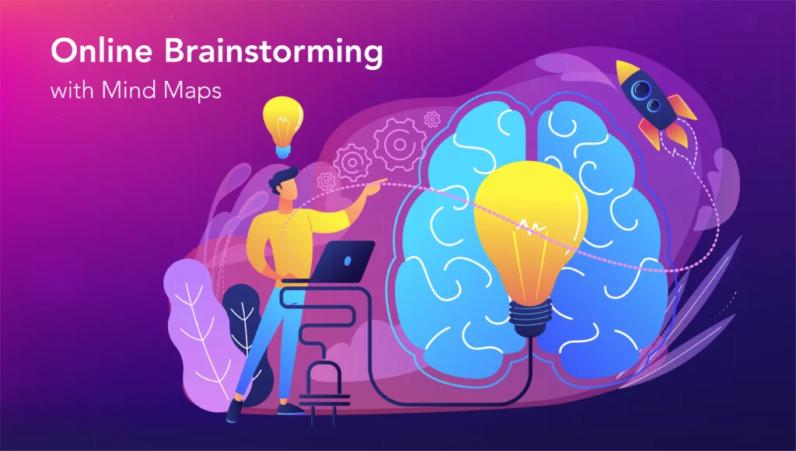 Brainstorming online com mapas mentais (tutorial)