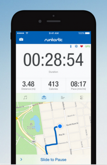 runtastic exercise app